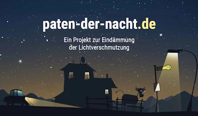 Lichtverschmutzung, Paten der Nacht